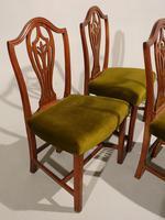 Set of 4 George III Period Hepplewhite Mahogany Chairs (3 of 4)