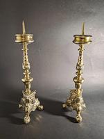 Victorian Baroque Pricket Candlesticks (3 of 4)