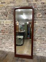 1920s Mahogany Mirror (2 of 3)