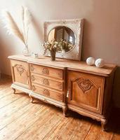 French Antique Style Large Oak Sideboard / Cupboard (2 of 10)