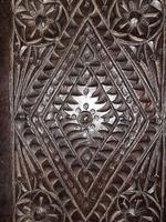 c.1570 A.D. English Tudor Carved Oak Wooden Panel (3 of 11)