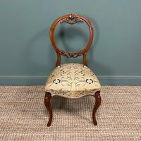 Elegant Set of 6 Victorian Walnut Antique Dining Chairs (2 of 9)