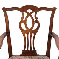 18th Century Chippendale Elbow Chair (8 of 8)