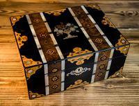 Stunning Inlaid Victorian Jewellery Box (6 of 14)