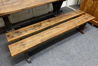 Rustic Oak Farmhouse Table & Bench Set (18 of 29)