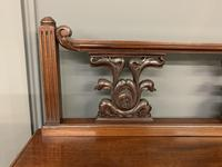 Carved Mahogany Display Cabinet (9 of 14)