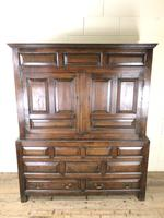 Large 18th Century Welsh Oak Hanging Cupboard (2 of 16)