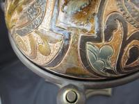 Superb Doulton Lambeth Oil Lamp by Mark V Marshall, 1881 (9 of 18)
