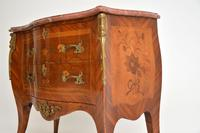 Antique French Inlaid  Marquetry  Marble Top Bombe Chest (12 of 12)