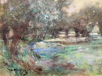 Thomas William Morley Bonhams Prov Kent Country watercolour Painting (4 of 12)