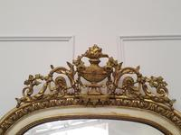 Tall French Antique Mirror c1850 (8 of 9)
