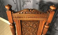 Pair of Victorian Oak Hall Chairs (17 of 17)