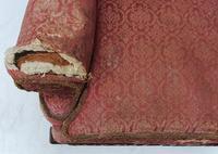 Irish Chippendale Design 19th Century Mahogany Wing Back Armchair (9 of 9)