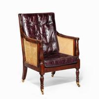 Regency Mahogany Bergère chair (5 of 8)