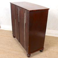 Regency Bowfront Chest of Drawers Mahogany (9 of 9)