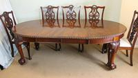 Wonderful Antique Victorian Mahogany Extending Dining Table (13 of 15)