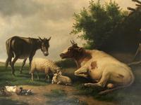 Edwin J Lambert Oil on Canvas (2 of 5)