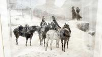 The Generals in the Snow by Jle Meissonier  Framed Print (12 of 13)