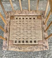 Antique Primitive Westcountry Stick Back Windsor Chair (10 of 18)