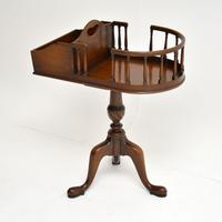 Antique Chippendale Style Mahogany Side Table (2 of 9)