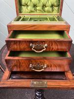 Antique Burr Walnut Ladies Jewellery Box (9 of 9)