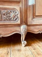 French Antique Sideboard / Louis XV Style Sideboard / Antique Oak Buffet (6 of 9)