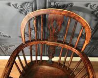 Low Back Ash & Elm Windsor Chair (8 of 8)