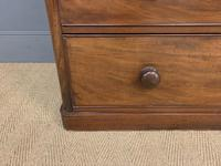 Victorian Tall Mahogany Chest of Drawers (3 of 12)