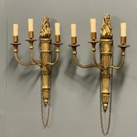 Pair of 19th Century Giltwood Wall Sconce (2 of 6)