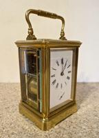 French Repeating Carriage Clock In 'Corniche' Case, By Maple & Co. 1889 (2 of 5)