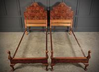 Pair of Queen Anne Style Beds c.1920