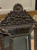 French Copper Cushion Mirror (5 of 7)