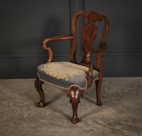 Small Queen Anne Style Childs Chair (3 of 9)