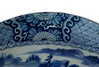 Japanese Arita Bowl / Charger with Rim (3 of 6)