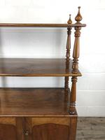 19th Century Mahogany Buffet with Cupboard Base (15 of 18)