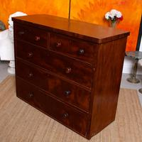 Cuban Mahogany Chest of Drawers 19th Century (11 of 14)