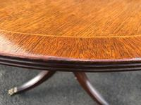 Antique Mahogany Twin Pillar Extending Dining Table (7 of 11)