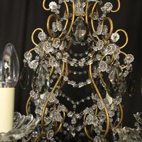 French Pair of Six Light Antique Chandeliers (7 of 10)