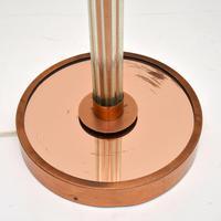 Art Deco Copper & Glass Vintage Floor Lamp (5 of 10)