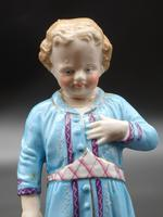 Early 20th Century Porcelain Figure of a Young Girl (2 of 2)
