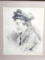 Pencil Sketch of Victorian Boy (3 of 4)