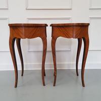 Pair of Kingwood Side Tables c.1930 (8 of 9)
