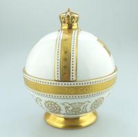 John Wadsworth : Limited Edition 1/600 Minton Orb Commemorate the Crowning of Qeii 1953 (3 of 9)