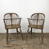 Pair of Antique Windsor Armchairs (9 of 9)