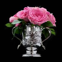 Georgian Solid Silver Loving Cup / Two Handled Cup - London 1748 (14 of 28)
