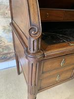 Stunning French Empire Cylinder Desk with Marble Top (4 of 11)