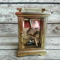 Rare St James London Solid Brass 11 Jewel Carriage Clock (3 of 5)