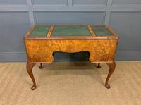 Good Queen Anne Style Burr Walnut Writing Desk (5 of 18)