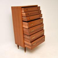 Walnut Tallboy Chest of Drawers by G- Plan Vintage 1960's (9 of 9)