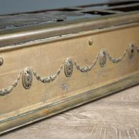 Victorian Brass Andirons & Fender (6 of 9)